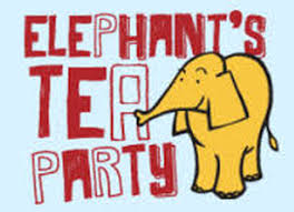 Elephants Tea Party